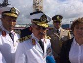"""قائد القوات البحرية: الميسترال """"أنور السادات"""" جاهزة للعمل فور استلامها"""