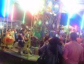 بالصور.. أهالى كفر الشيخ يقضون آخر ليالى عيد الأضحى بمصيف بلطيم