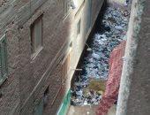 """شكوى من انتشار القمامة بشارع """"الحاج صابر"""" بشبرا الخيمة"""