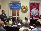 """منسق عام قائمة فى حب مصر  للمجالس المحلية يستقبل هيئة """"مكتب الغربية"""""""