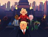 بالفيديو.. لعبة جديدة لدونالد ترامب على الهواتف الذكية