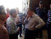 ممدوح غراب رئيس يتفقد جامعة قناة السويس للوقوف على الاستعداد للدراسة