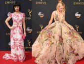 بالصور.. الورود تغزو السجادة الحمراء لحفل  Emmy Awards
