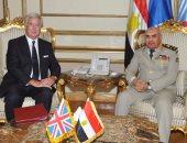 وزير الدفاع البريطانى: نتعاون مع حلفائنا المصريين لاستقرار المنطقة