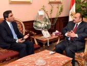 محافظ الإسكندرية يلتقى قنصل لبنان لبحث تبادل الخبرات
