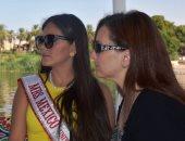 ملكة جمال المكسيك: أدعو شعوب العالم لزيارة مصر