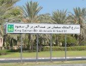 """محمد بن راشد يطلق اسم """"الملك سلمان"""" على أحد شوارع دبى"""