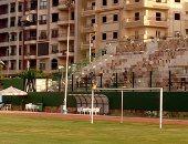 صور ..طنطا يخاطب محافظ الغربية ووزير الصحة لإنقاذ اللاعبين من النفايات الطبية