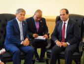 رئيس وزراء رومانيا للسيسى: نتطلع لتعزيز التعاون مع مصر على جميع الأصعدة