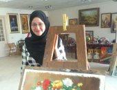 قارئة تشارك اليوم السابع بأعمالها الفنية وتعطى دروسا مجانية فى الرسم