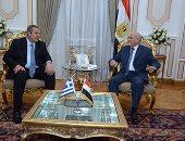 وزير الانتاج الحربى يبحث أوجه التعاون المشترك مع وزير الدفاع اليونانى