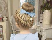 بالصور والخطوات.. اتعلمى تسريحات شعر جديدة لبناتك قبل المدرسة
