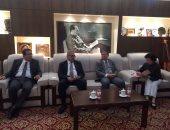 بالصور.. هيئة الاستعلامات توقع اتفاقية تعاون مع جمعية الصحفيين الصينيين
