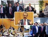 """بالصور.. رجل الأعمال الإماراتى خلف الحبتور يزور مقر """"اليوم السابع"""""""
