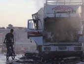روسيا تنفى تأكيد مسؤولين أمريكيين أنها هاجمت قافلة مساعدات فى سوريا