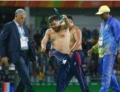 إيقاف مدربى منغوليا للمصارعة بعد خلع ملابسهما بأولمبياد ريو دى جانيرو