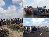 ارتفاع عدد ضحايا مركب الهجرة غير الشرعية برشيد إلى 168 غريقا