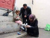أبو مازن يمنع دخول زوجة محمد دحلان بقافلة مساعدات لأهالى قطاع غزة