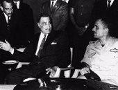 ذات يوم... القذافى يطالب بإيداع «حسين» مستشفى المجانين و«فيصل» يغضب و«عبدالناصر» يعلق