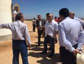 أعضاء لجنة الطاقة بالبرلمان يتفقدون موقع هيئة الطاقة المتجددة بالزعفرانة