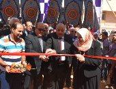 القائم بأعمال رئيس جامعة السادات يفتتح كلية الصيدلة الجديدة