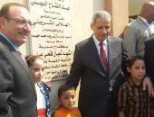 بالصور.. وزير التعليم يفتتح مدرستين ثانوى عام وفنى ببنى سويف