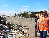 """بالصور ..محافظ السويس يزور مصنع لتدوير القمامة..ويعلن عن مسابقة """"أجمل حى"""""""
