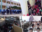 غدا.. وزير التعليم يحضر طابور الصباح بمدرسة المعادى الثانوية للبنات