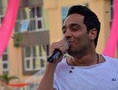 """بالصور ... رامي جمال يتألق فى حفل استقبال الطلاب الجدد بجامعة """"Buc"""""""