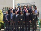 أعضاء مجلس النواب يتفقدون المعمل المصرى للكشف عن المنشطات