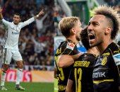 رونالدو يقود ريال مدريد أمام بوروسيا دورتموند بدورى أبطال أوروبا
