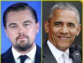 ليوناردو دى كابريو يبحث مع أوباما ظاهرة تغير المناخ