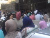 خريجو المعاهد الصحية يتظاهرون أمام التعليم العالى لإلغاء التوزيع الجغرافى