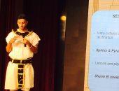 مصرى يفوز بجائزة الشباب الواعد بالصين بعد إلقاء كلمة عن الحضارة الفرعونية