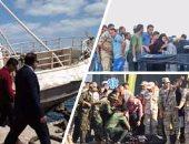 16 شخصاً يتقدمون ببلاغات رسمية لفقدان أبنائهم فى غرق مركب رشيد