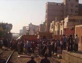 السكة الحديد: تصادم قطار بسيارة اقتحمت مزلقان بخط بنها - بورسعيد