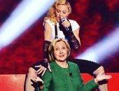 """مادونا تواصل دعمها لهيلارى كلينتون بطريقة خاصة على """"أنستجرام"""""""