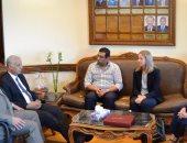 جامعة الإسكندرية: نحرص على التعاون مع الجامعات الأمريكية فى عدة تخصصات