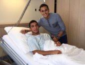 ربيعة يصل القاهرة غداً بعد الانتهاء من علاجه بألمانيا