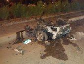 مصدر أمنى: عبوة ناسفة تزن 3 كيلو استخدمت فى تفجير سيارة التجمع الاول