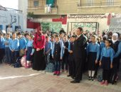 وكيل وزارة التربية والتعليم بشمال سيناء يواصل زيارته الميدانية للمدارس