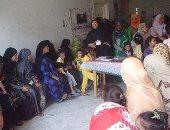 الكشف على 1359 مواطنا فى قافلة مجانية لصحة بنى سويف