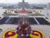 بالصور.. الصين تحيى بميدان تيانانمن فى بكين ذكرى 20 مليون شهيد