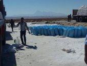 التحفظ على 56 طن ملح داخل مصنع غير مرخص في الإسكندرية
