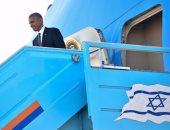 بالصور.. أوباما يصل إسرائيل للمشاركة فى جنازة شيمون بيريز
