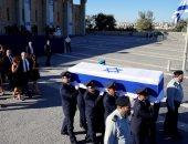 بالفيديو والصور.. بدء تشييع جنازة الرئيس الإسرائيلى السابق شيمون بيريز