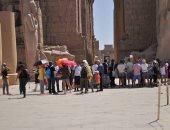 وزارة السياحة: زيادة أعداد السائحين بالمناطق الأثرية فى الأقصر