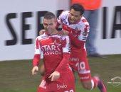 بالفيديو.. تريزيجيه يتألق ويقود موسكرون لفوز ساحق بالدورى البلجيكى