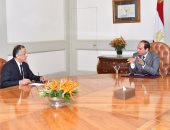 طارق عامر يؤكد للسيسى دعم ألمانيا لاتفاق مصر مع صندوق النقد الدولى