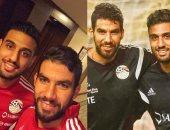 شريف إكرامى عن أحمد الشناوى: صديقى وأخويا ومنافسى